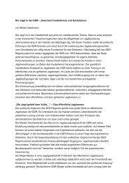 Die Jagd in der DDR - Bundesstiftung zur Aufarbeitung der SED ...