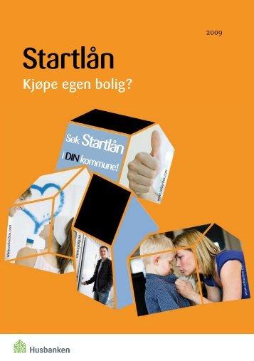 Startlån - en gunstig låneordning fra kommunen - Husbanken