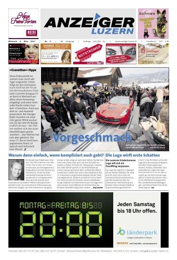 Anzeiger Luzern, Ausgabe 09, 6. März 2013