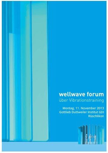 wellwave forum - Reha Schweiz / Physikalische Medizin und ...