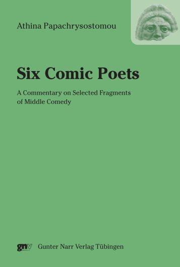 Six Comic Poets - im Shop von Narr Francke Attempto