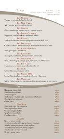 dinner menu - The Village Bar & Kitchen - Page 2
