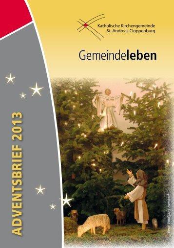 ADVENTSBRIEF 2013 Gemeindeleben - st-andreas-clp.de