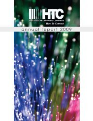 annual report 2009 - Halstad Telephone Company