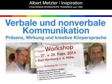 VERBALE UND NONVERBALE ... - WordPress.com
