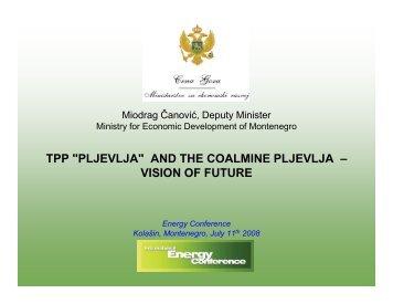 tpp pljevlja and the coalmine pljevlja