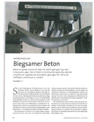 Biegsamer Beton - Advanced Civil Engineering - Materials ...