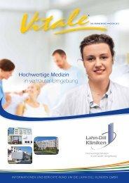 Hochwertige Medizin in vertrauter Umgebung - Lahn-Dill Kliniken