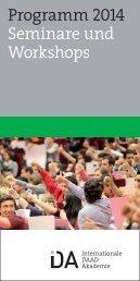 PDF hier zum Download. - Internationale DAAD-Akademie (IDA)