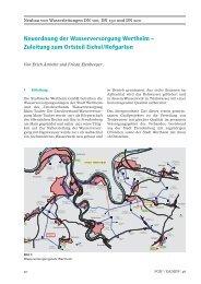 Neuordnung der Wasserversorgung Wertheim – Zuleitung zum ...