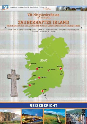 Reisebericht zur Irland-Reise - Volksbank Raiffeisenbank ...