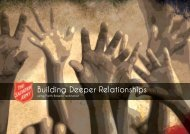 Building Deeper Relationships - Salvation Army
