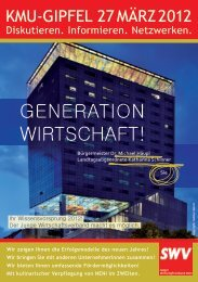 GeneratIon WIrtschaft! - Junger Wirtschaftsverband