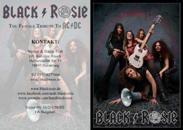 Bookingmappe [.pdf] - Black/Rosie