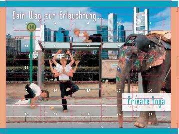 Dein Weg zur Erleuchtung ... - Private Yoga Institute