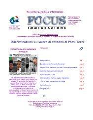Newsletter periodica d'informazione - Uil