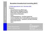 Hans Häusermann Baustellen-Umweltschutz ... - Kanton Zürich