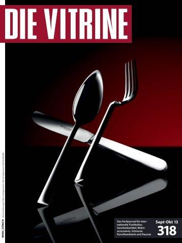 Sept-Okt 13 - Die Vitrine