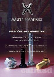Folleto DIN - Walter Martínez, SA