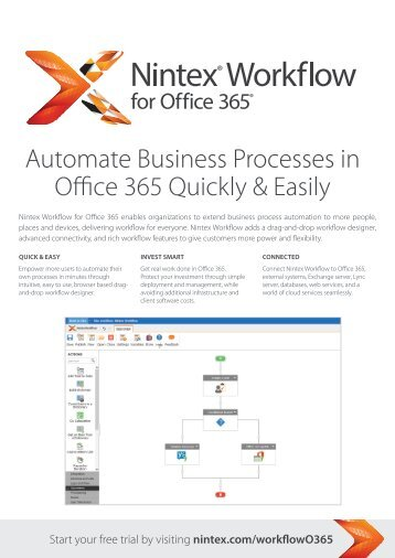 Automate Business Processes in Office 365 Quickly & Easily