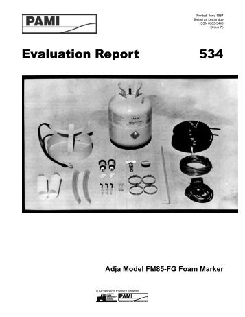Evaluation Report 534