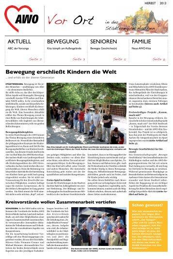 Vor Ort - AWO Kreisverband Aachen-Stadt e.V.