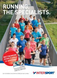 Februar 2013: Running. The Specialists (Intersport) - Toni Hasler