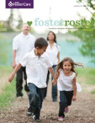 current FosterRoster - Utah Foster Care