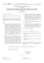 Commission Regulation (EU) No 255/2013 of 20 March ... - EUR-Lex