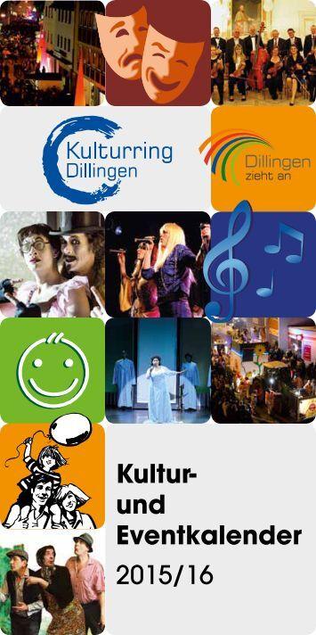 Kultur- und Eventkalender 2015/16