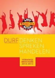 KLIK HIER - Nieuwe vormingsbrochure 2012/13 ... - ABVV Metaal