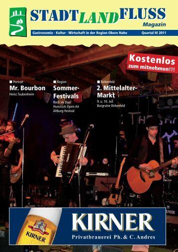 Ausgabe 3/2011 - Stadt, Land, Fluss – Das Magazin
