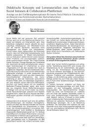 Didaktische Konzepte und Lernmaterialien zum ... - TU Ilmenau