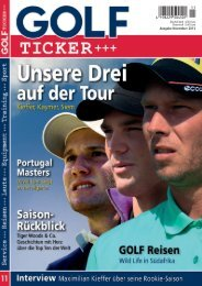 Ausgabe November 2013 (PDF, ca. 8,1 MB) - Golf Ticker