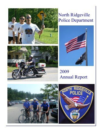 2009 Annual Report - The City of North Ridgeville, Ohio