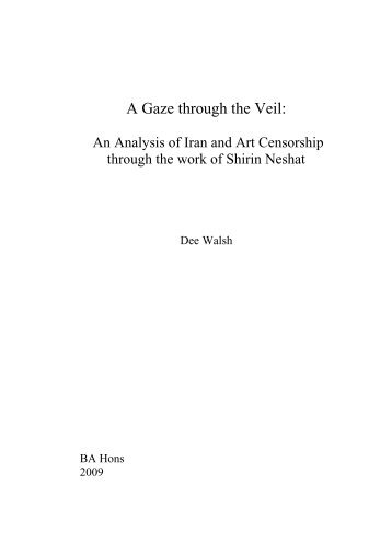 A Gaze through the Veil: