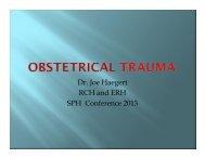 Dr. Joe Haegert RCH and ERH SPH Conference ... - Rchemerg.com
