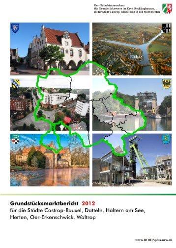 Grundstücksmarktbericht 2012 gebührenfrei - GARS.NRW