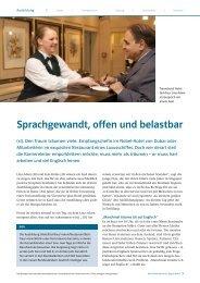 Sprachgewandt, offen und belastbar - Ernst Klett Verlag