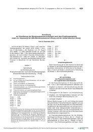 Verordnung zur Novellierung der Monatsausweisverordnungen ...