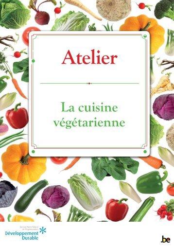 Fiches atelier 1 - La cuisine végétarienne