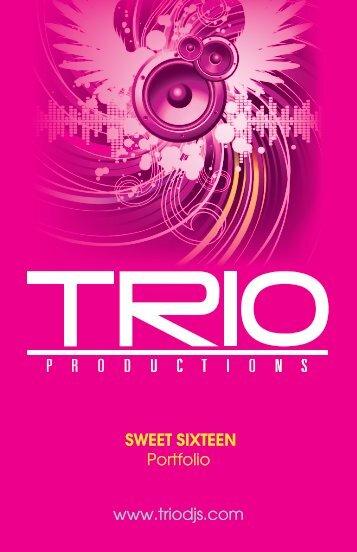 Sweet Sixteen Booklet - Triodjs.com