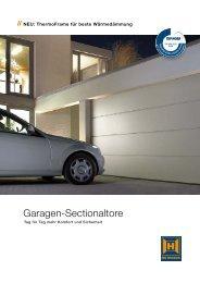 Garagen-Sectionaltore - Mehr aus Metall