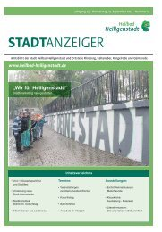 """""""Wir für Heiligenstadt!"""""""