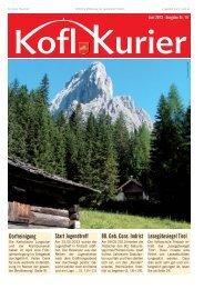 Koflkurier - Ausgabe 14 - in Tristach