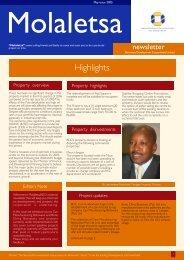 May 2005 Issue (PDF - 245Kb) - Botswana Development ...