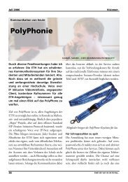 PolyPhonie - Vis