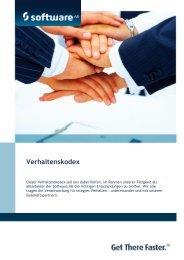 Verhaltenskodex - Software AG
