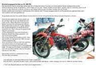 XL Umbau zur XLS vom Klaus - XL600.de
