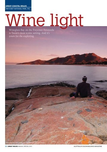 download the full article here - Freycinet Experience Walk